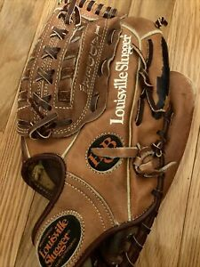 "Louisville Slugger LSG29N Ladder Web Leather Baseball Softball Glove RHT 12.5"""