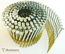 Coilnägel 16° drahtgeb. 2,8x65mm verzinkt geharzt RING  6.000 St. zertifiziert