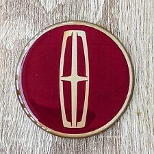 Burgundy Lincoln Dayton Wire Wheel Chips Emblems Decals Set Of 4 Size 225in