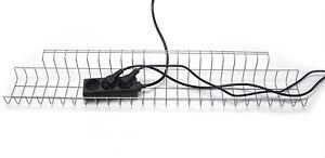 EISNHAUER® Kabelkorb 790 mm | Gitter Kabelwanne Kabelkanal für Schreibtische NEU
