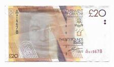 Gibraltar £20 Pounds 2011