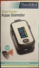 NuvoMed Anti-Shake Fingertip Blood Oxygen & Pulse Oximeter - 859811007391