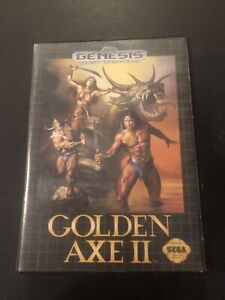 Golden Axe 2 Sega Genesis Case