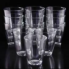 12 Wassergläser STAPELBAR 400ml Glas Trinkgläser Wasserglas Saftgläser Trinkglas