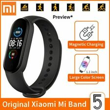 NEW Xiaomi Mi Band 5 Smart Bracelet Dynamic Colour AMOLED Touch Screen Black