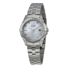 Citizen Blue Mother of Pearl Dial  Diamond Ladies Watch EW1930-50D