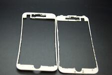2x Iphone 7 Marco Bisel blanco, con Pegamento Caliente Derretir Pegamento, más fuertes en él