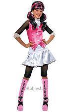 Fancy Dress ~ Niñas Monster High Draculaura Disfraz Pequeña Edad 3-4