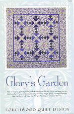 Glory's Garden ~ Quilt Quilting Pattern ~ by Touchwood Quilt Design TG029