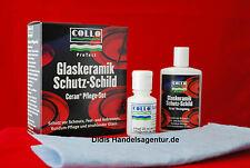 Collo ProTect Glaskeramik Kochfeld Pflegemittel Schutz-Schild Pflege Set