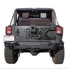 Smittybilt 2843 07-17 Jeep JK Wrangler Pivot Heavy-Duty Oversize Tire Carrier