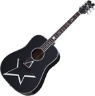 Schecter Robert Smith RS-1000 Busker Acoustic Guitar Gloss Black for sale