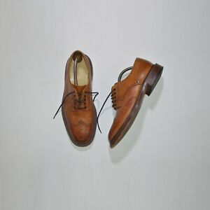 Loake 1880 Chester 2 Brogues Shoes Made in England Size 7.5