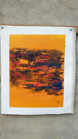 Hand painted Modern Abstract Oil Painting on Canvas  NO framed #D41