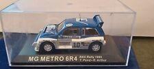 IXO 1/43 MG METRO 6R4 RAC RALLY 1985 NEUF EN BOITE