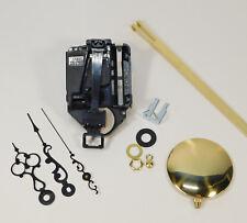 "TAKANE Mini Quartz Battery Clock Movement Pendulum 5/8"" SHORT SHAFT SCROLL Hands"