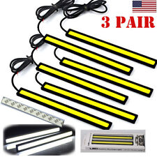 6Pc Universal COB LED Trunk Cargo High Back Motorcycle Car Trailer Running Light