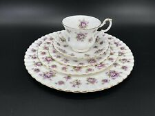Royal Albert Sweet Violets 5 Piece Place Setting Bone China England