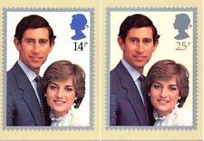 Elizabeth II (1952-Now) Royalty Decimal Great Britain PHQ Cards