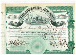 Philadelphia Bourse, 1891, nice, VF