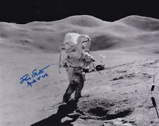 DAVE SCOTT APOLLO 15  MOON WALKER -SWANN HILLS EVA- SIGNED 8x10 PHOTO NASA W-COA