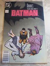 BATMAN #404 Frank Miller YEAR ONE part 1 CANADIAN NEWSSTAND VG+ DC MAzzucchelli