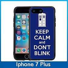 Tardis Keep Calm And Don't Blink For Iphone 7 Plus & Iphone 8 Plus (5.5) Case