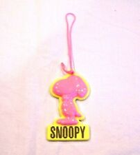 Pink and yellow Snoopy Christmas ornament, Charles Schultz, Peanuts
