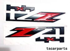 NEW RED 2X GMC Chevy Silverado Sierra Tahoe Suburban Z71 4x4 Emblem Badge Plate