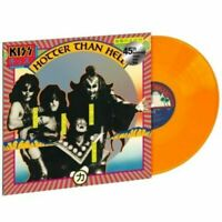 KISS HOTTER THAN HELL ORANGE COLORED VINYL NEW & SEALED FAST SHIPPING
