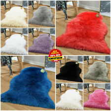 Modern Sheepskin Rug Fluffy Soft Wool Shaggy Area Rugs Faux Fur Rug Hairy Mats