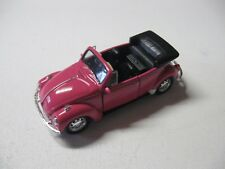 1:38 SCALE WELLY VOLKSWAGEN BEETLE CONVERTIBLE W/O BOX