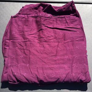 "Purple Full Sized Duvet Cover Ikea Tanja Brodyr 80"" x 78"""