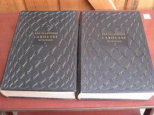 Encyclopédie Larousse Méthodique de 1955 en 2 volumes