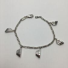 BRACCIALE EMPORIO ARMANI, da donna a catena con charms in argento 925 EG1003-040