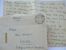 Army Postal Service 1940 From Schopfheim (With Content) An LG Kmünchen (5377)