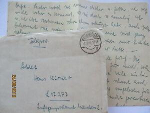Feldpost 1940 von Schopfheim (mit Inhalt) an LG KMünchen  (5377)