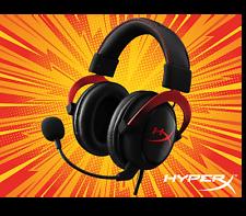 Hyperx Cloud II Auriculares para juegos de PC Ps4 Mac Rojo Rojo Móvil
