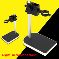 Digital 42mm Ring Holder Adjustable Boom Large Stereo Arm Microscope Table Stand