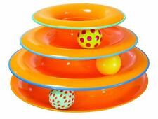 Cat Toy Stimulator Tower of Tracks Ball & Track Activity for Cats Petstages