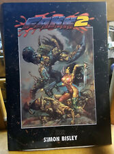 HEAVY METAL PROFOLIO SIMON BISLEY LIMITED EDITION SIGN and NUMBERED 1169/2500