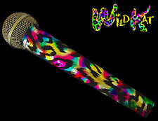 SPARKLE MICROPHONE COVER (WILDKAT)  BLING MICROPHONE COVER FOR CORDLESS MIC