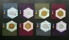 Second Series Of Currency Malaysia 2012 Coin Money (stamp color MNH unusual odd