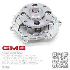 GMB WATER PUMP LY7 V6 ALLOYTEC 3.6L MOTOR [HOLDEN WL-WM CAPRICE/STATESMAN]