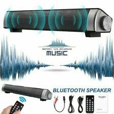TV Home Theater Soundbar Wireless Sound Bar Stereo Speaker System w/ Subwoofer