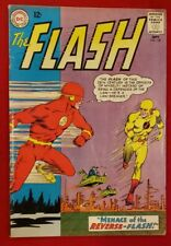 RARE 1963 SILVER AGE FLASH #139 KEY 1ST REVERSE-FLASH COMPLETE NICE