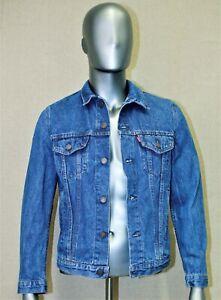 LEVIS denim trucker jacket vintage 80's taille M 38 US 44 EUR made in France