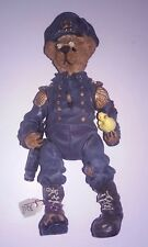 "Boyds Bears The Shoe Box Bears 3208 5"" Filbert Q. Foghom Nib police man cop"