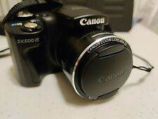 Canon PowerShot SX500 IS Digital Camera - Black