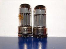 2 x 6080(6AS7) RCA Tubes*O getters*3-Mica*